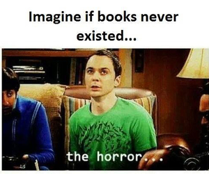 book and horror image