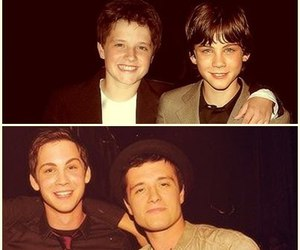 josh hutcherson, logan lerman, and josh image