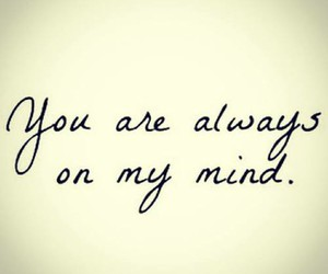 mind, love, and always image