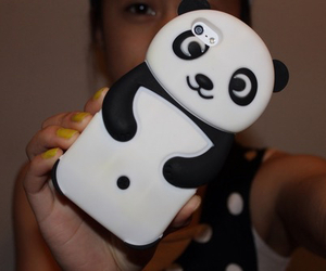 case, iphone, and panda image