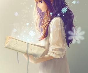 anime and book image