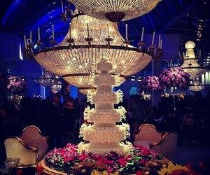 wedding, cake, and luxury image