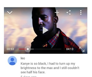 black, funny, and haha image