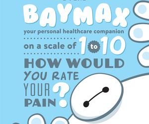 baymax, disney, and big hero 6 image