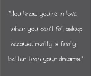 dreams, text, and love image