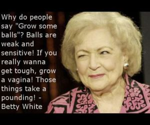 betty white and quote image