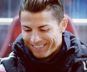 haircut, laugh, and cr7 image