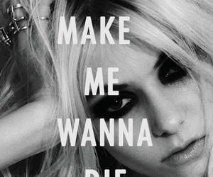 Taylor Momsen, the pretty reckless, and die image