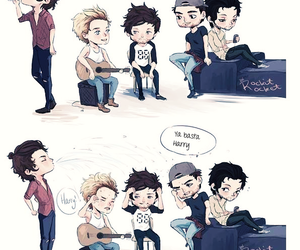 lucho, boo bear, and niall horan image