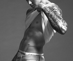 abs, handsome, and six pack image