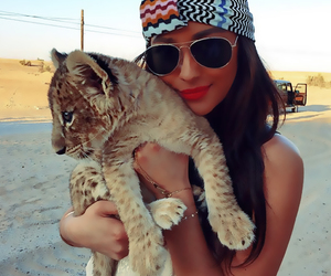 Dubai, shay mitchell, and leopard image