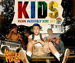 mac miller, kids, and dope image