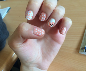 bear, nail art, and nails image