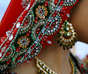 australian, bride, and indian image