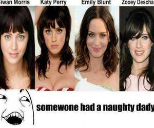 katy perry, Emily Blunt, and funny image