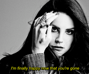 totally, cruel world, and lana del rey image