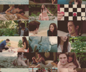 bella swan, amanecer, and edward cullen image