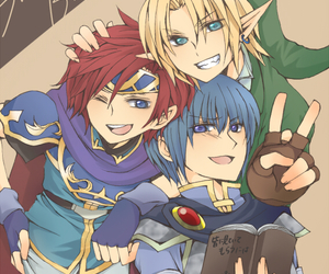anime, link, and roy image