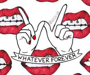 kiss, fondos, and whatever forever image