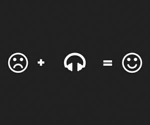 happy, music, and grunge image
