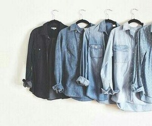 fashion, jeans, and blue image