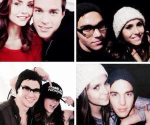 Nina Dobrev and chris wood image