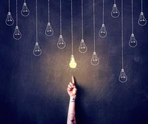 light, art, and lamp image