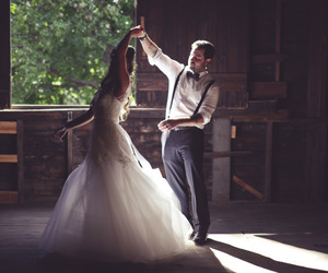 couple, dancing, and lovely image
