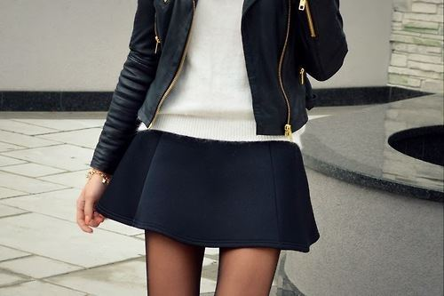 girl, sweater, and outfit image