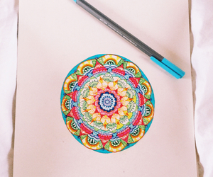 colorful, doodle, and drawing image