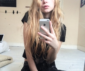 pale, blonde, and grunge image