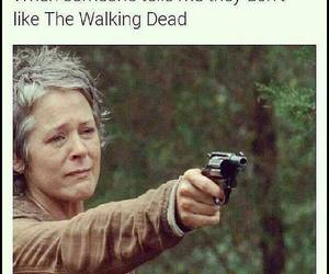 carol, the walking dead, and twd image