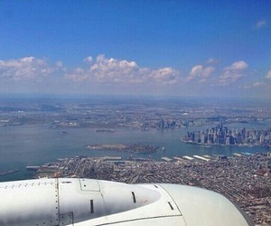 big apple, view, and city image