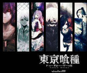 gore, ayato, and tokyo ghoul image