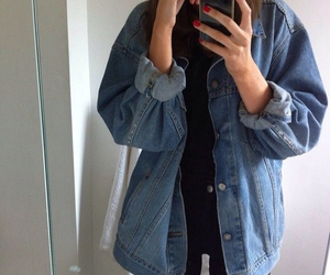 grunge, style, and outfit image