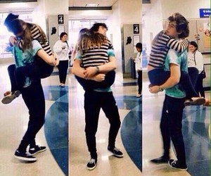 nash grier and hug image
