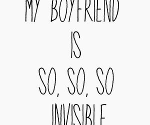 boyfriend, invisible, and funny image