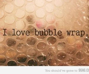 love, bubbles, and bubble wrap image