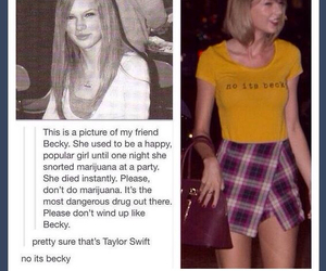 becky, Taylor Swift, and tumblr image