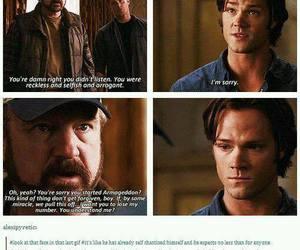 supernatural and sammy :( image