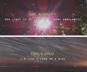 girl almighty, fool's gold, and one direction image