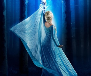 elsa, once upon a time, and frozen image