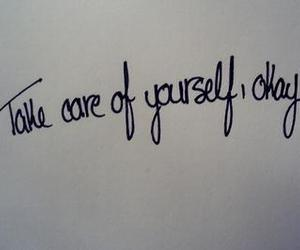 quote, care, and take care image