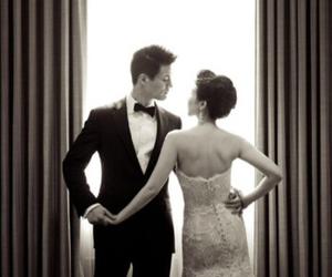 love, couple, and beautiful image