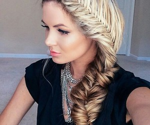beauty, accessoris, and fishtail image