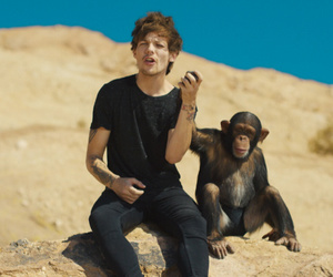 louis tomlinson, steal my girl, and chimpance image