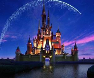 castle, disney, and pretty image