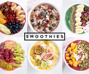 breakfast, fruit, and smoothie bowl image