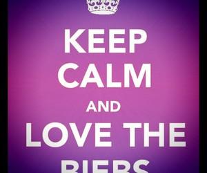 keep calm, justin bieber, and bieber image