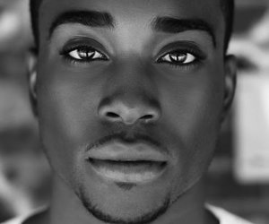 beautiful, black, and men image